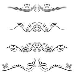 floral pattern set vector
