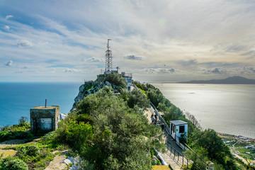 O´hara battery on Gibraltar.