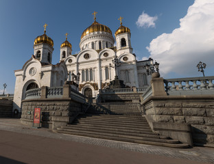 White Cathedral of Christ the Savior, Moscow, Russia