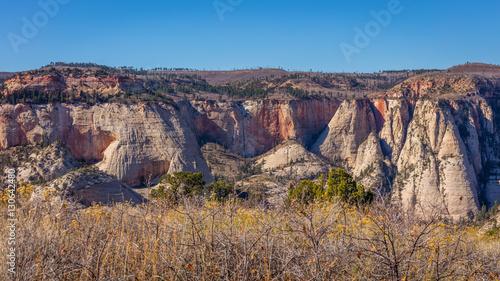 The Rays Of Sun Illuminate Canyon Beautiful Landscape Scenic View