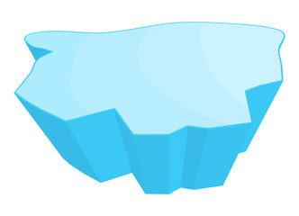 ice floe vector symbol icon design.
