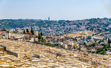 Mount of Olives Jewish Cemetery - Jerusalem