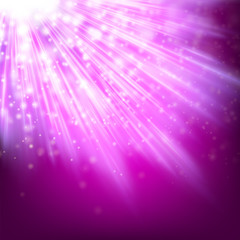 Abstract glowing lilac background. EPS 10