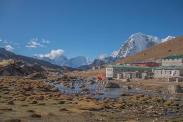 Lobuche village