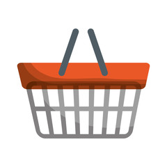 shopping basket icon image vector illustration design
