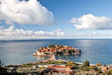 Insel Sveti Stefan
