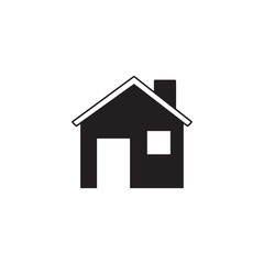 Home solid icon, Building sign, house, social media, vector graphics, a filled pattern on a white background, eps 10.