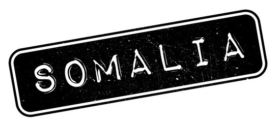 Somalia rubber stamp. Grunge design with dust scratches. Effects can be easily removed for a clean, crisp look. Color is easily changed.
