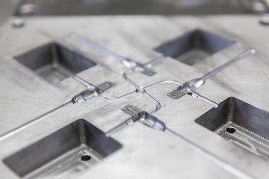 Metal tool for molding
