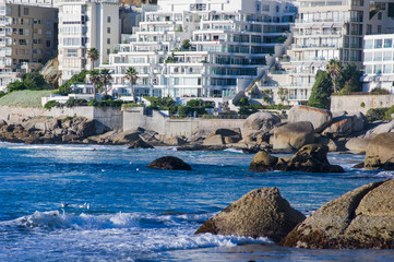 South Africa, Western Cape Province, Cape Town, Clifton Beach
