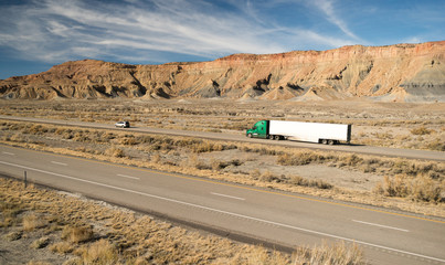 Over The Road Long Haul 18 Wheeler Big Rig Truck