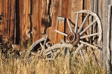 Old Wagon Wheel Bannack State Park Montana