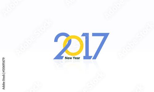 2017 New Year Celebration Logo Designu0026quot; Stock image and royalty-free ...