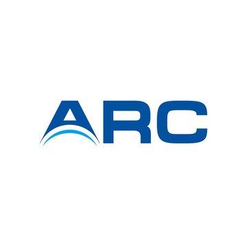 arc logo. arch symbol. logotype.
