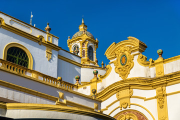 The Lope de Vega Theatre in Seville, Spain