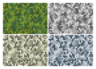 Pixel Camouflage