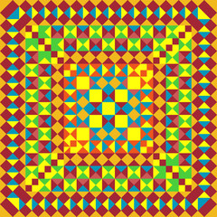 Mexico pattern. Pixel bright background in Mexican style