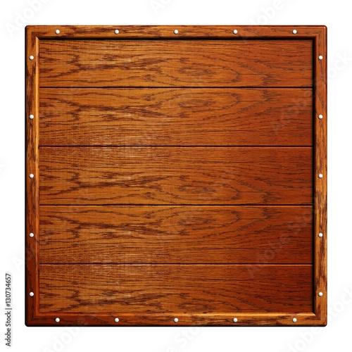 quadratische holztafel mit dekorativen n geln stockfotos und lizenzfreie bilder auf fotolia. Black Bedroom Furniture Sets. Home Design Ideas
