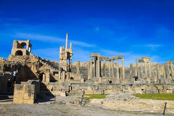Dougga Roman City Ruins (Medina), Tunisia