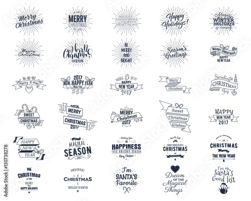 Big christmas bundle typography wishes funny badges holiday big christmas bundle typography wishes funny badges holiday icons and other elements m4hsunfo