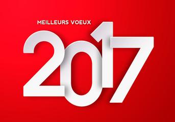 Meilleurs Vœux 2017 ! Fototapete