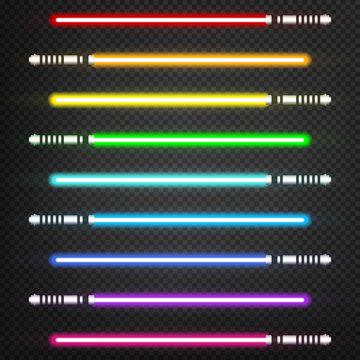 Light swords set
