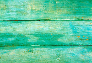 Green weathered wooden wall texture.
