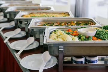 catering wedding food buffet