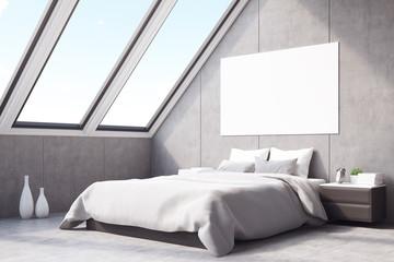 Corner of attic bedroom