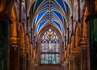 Hallway in St Giles' Cathedral, Edinburgh