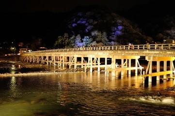 渡月橋イルミネーション