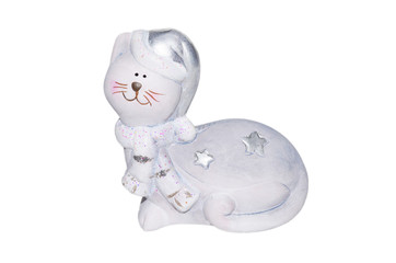 Christmas toy funny cat