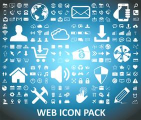 Wall Mural - Web icons set