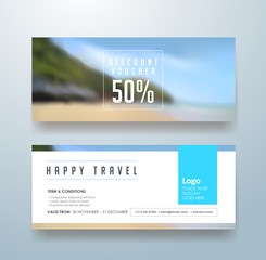 discount voucher template with modern colorful pattern,Vector illustration