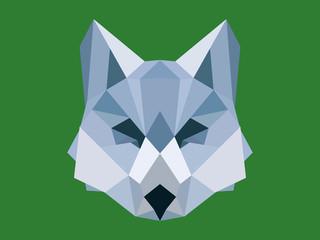 Wolf's head polygonal