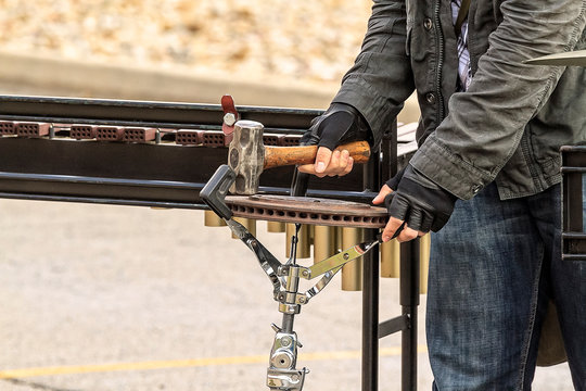 A weird percussion instrument