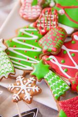 Plate of cookies handmade
