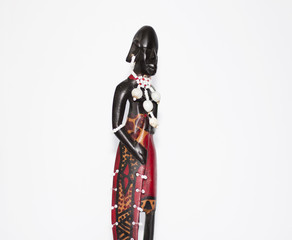 African natives figurines
