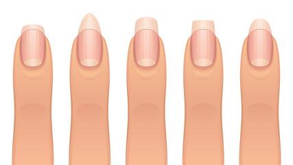 Various manicure