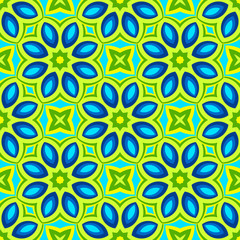 Wallpaper flower  abstract colorful vector pattern