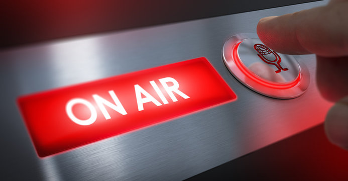 Radio Station, On Air Sign