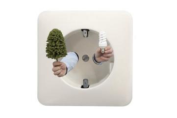 energy saving bulbs for healthy nature