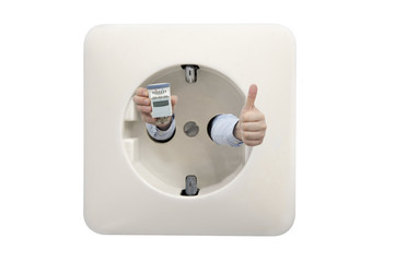 thumbs up for thermostat