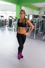 Mature Sporty Fit Caucasian Female Model Posing