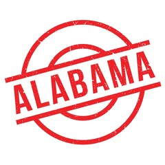 Alabama rubber stamp. Grunge design with dust scratches. Effects can be easily removed for a clean, crisp look. Color is easily changed.