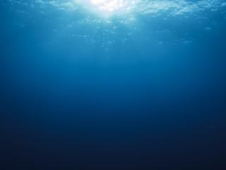 Underwater background in sea