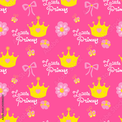 princess birthday invite