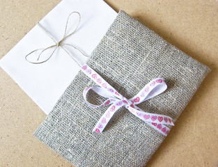 envelope of tissue letter for lovers, a gift for those who love