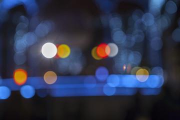 Bokeh light for background. Christmas light