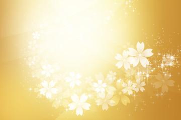 金色のきらめく抽象的背景